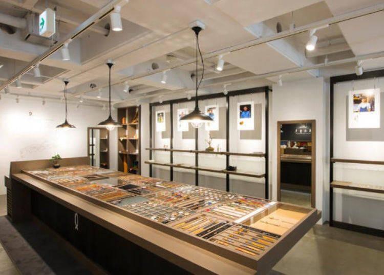 原宿逛街景點20. 客製屬於你的日本製手錶「Maker's Watch Knot 表參道Gallery Shop」