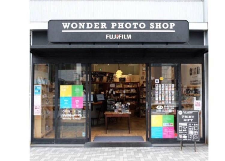 原宿逛街景點22. 讓相片不再只是相片「WONDER PHOTO SHOP」
