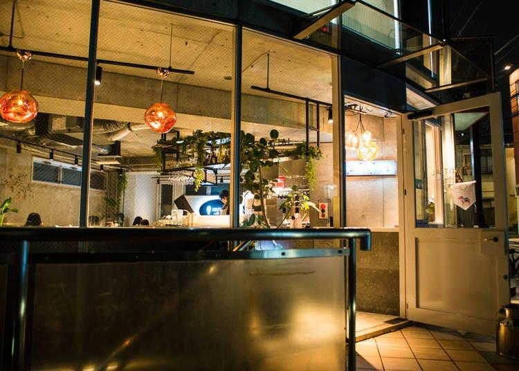 原宿夜景中的推薦餐廳③用北海道流行的「結尾聖代」打開大人們的話匣子「INITIAL 表參道」
