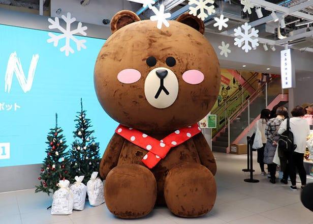LINE FRIENDS原宿旗艦店大解析!還能買到日本限定的商品喔!