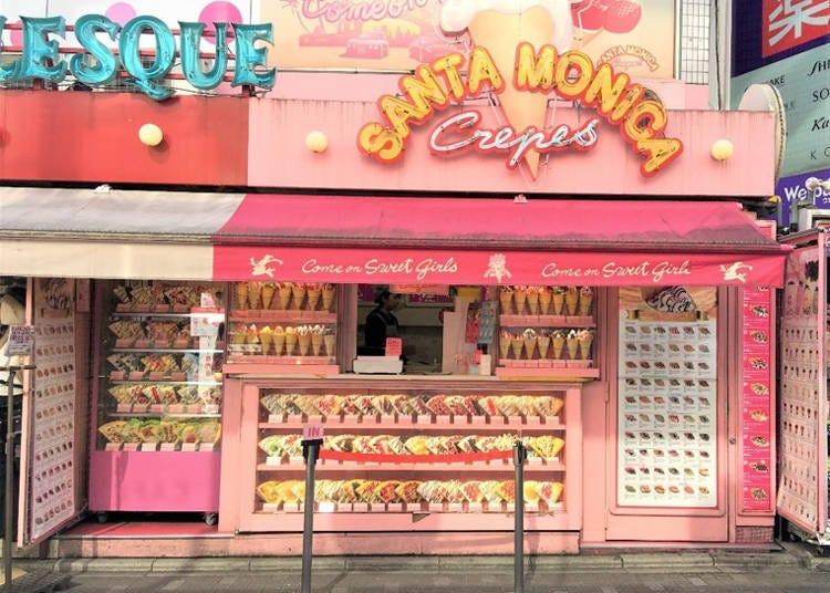 1. Santa Monica Crepes: Fashionable, Instagrammable crepes on Harajuku's Takeshita Street