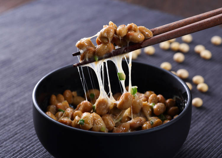 1. Fermented Soybeans - Natto