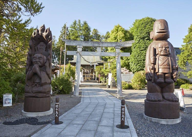 Hotoku Ninomiya Shrine: Grave of Sontoku Ninomiya, where there are both gods and the Buddha