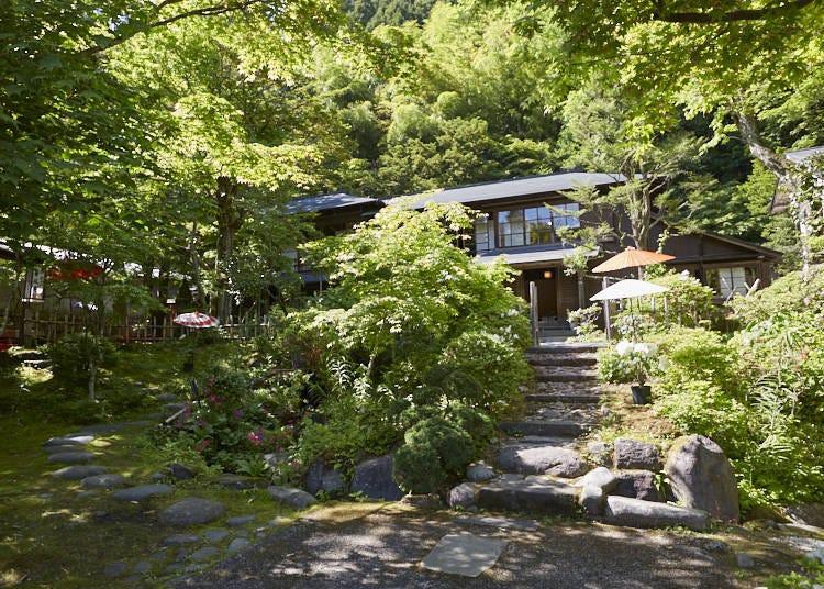 ■이사벨라 버드 비숍도 머문 적이 있는 '사무라이야시키'를 지금까지도 잘 보존하고 있는 '닛코카나야 호텔 역사관'