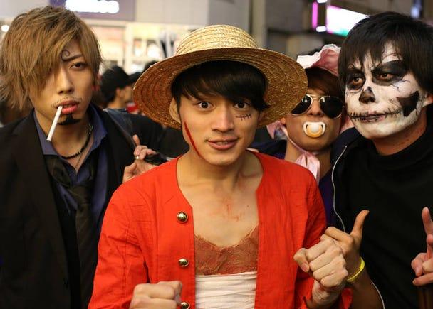もはや収穫祭ではない! 渋谷はコスプレで大騒ぎ!