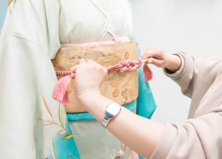 10. Wearing Kimono every day; needless to say, everybody knows how to wear a kimono