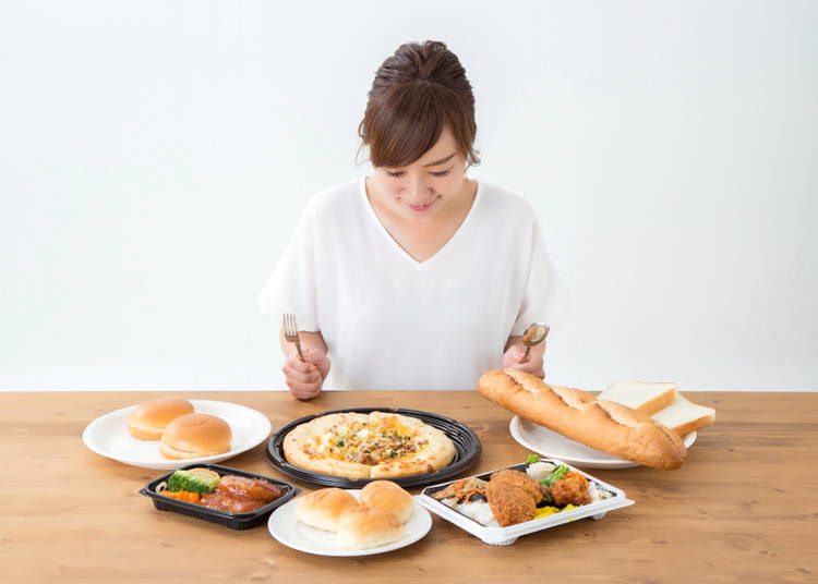 11. Eat Japanese food every day