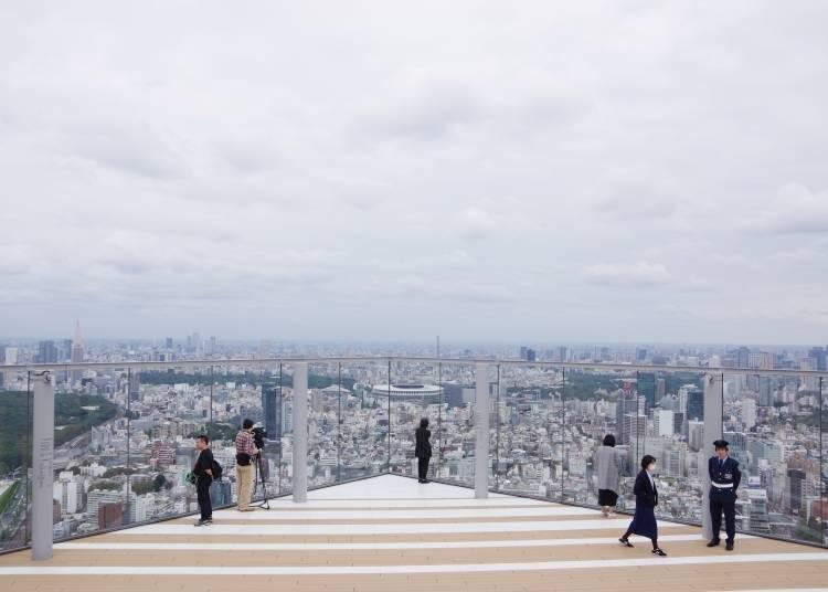 澀谷Scramble Square嚴選1. 展望設施「SHIBUYA SKY」【45・46F】