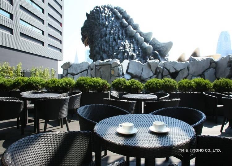 Café Terrace Bonjour