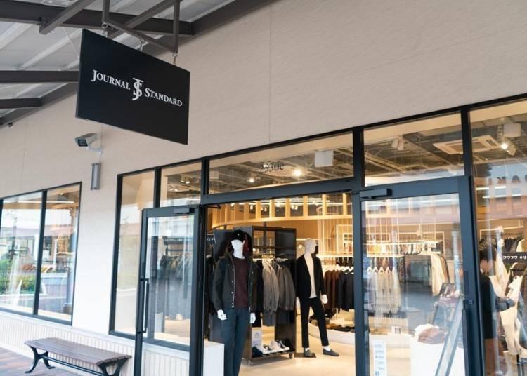 แบรนด์เสื้อผ้าญี่ปุ่นก็มี Journal Standard、Iena、Spick and Span、Edifice