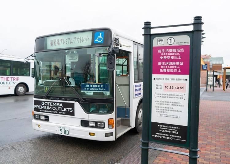 从东京市区前往的交通方式