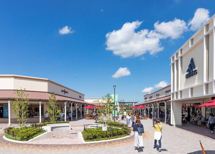 2. Shisui Premium Outlets