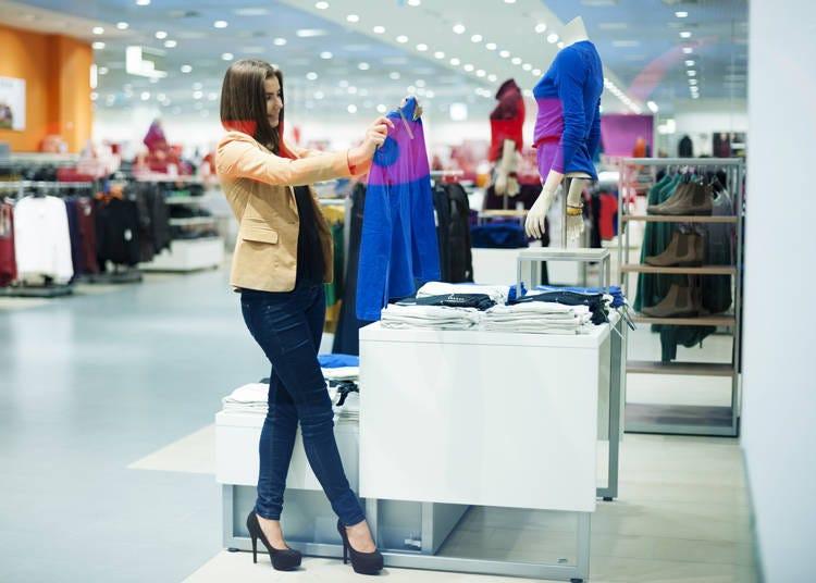 在日本有哪些以購物為主的大型商場呢?