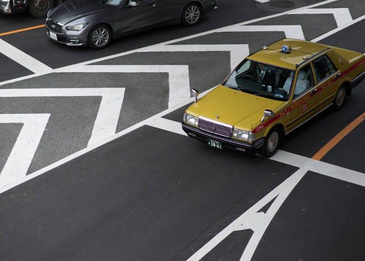 택시를 탈 때에는 정가 택시를 추천한다.