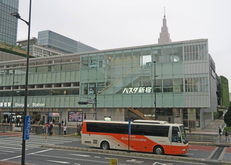 【利木津巴士】新宿乘车地点