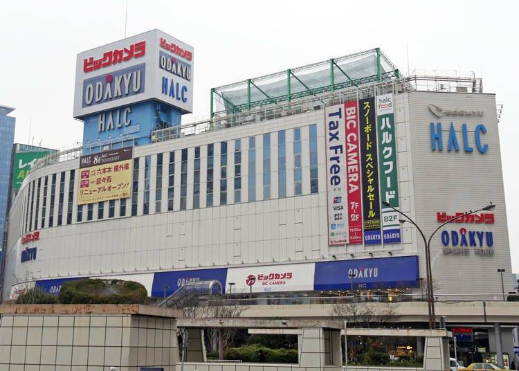 新宿西口電器店2.從最新家電產品到酒類都應有盡有「BicCamera新宿西口店」