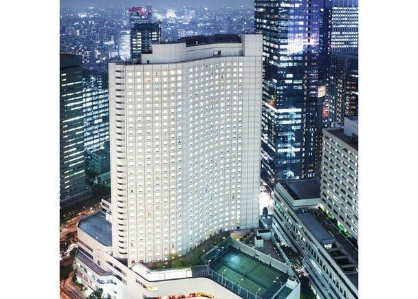 鄰近新宿車站的推薦飯店④ 高級日式現代風客房-東京希爾頓酒店