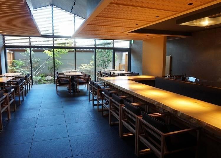 「ONSEN RYOKAN 由緣 新宿」不是只有溫泉!精緻美食的餐廳也別錯過
