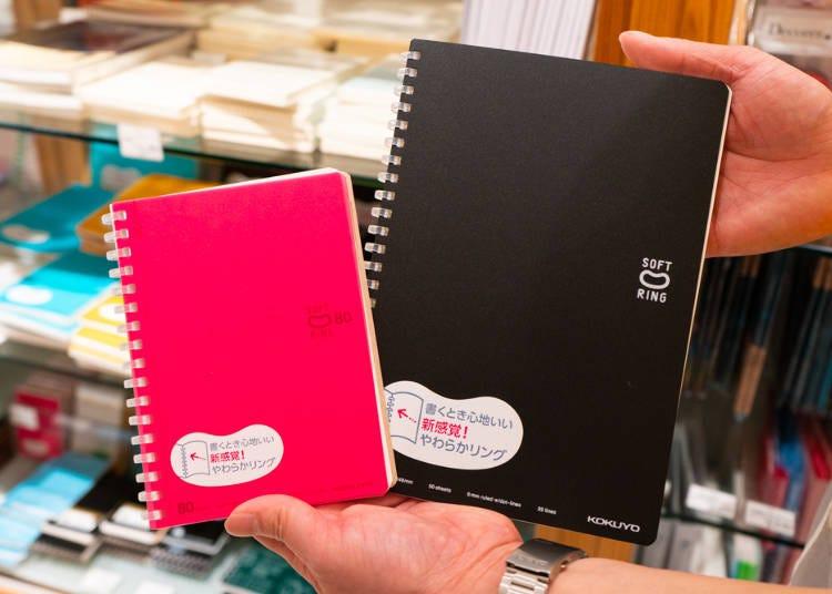 新宿Loft店長推薦商品!No.3一旦用過就回不去了的Loft定番商品:軟線圈筆記本