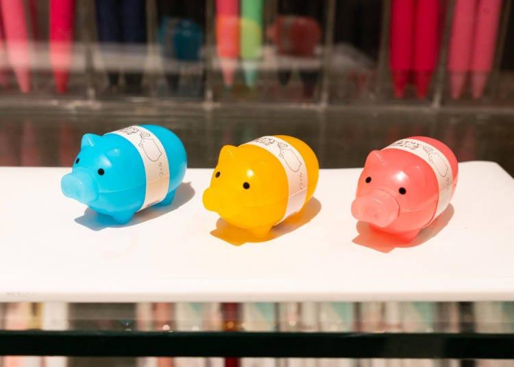 新宿Loft店長推薦商品!No.5只能在Loft買到的限定產品:小豬自動筆