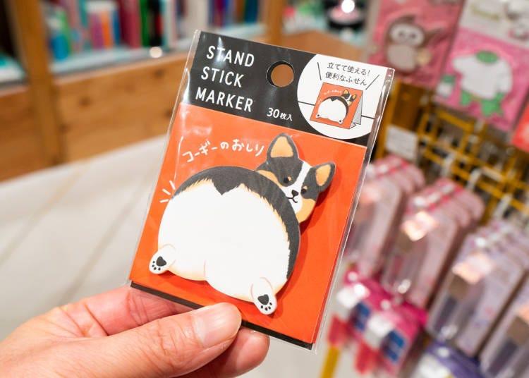 新宿Loft店長推薦商品!No.10每天都想用的療癒小紙條:STAND STICK MARKER
