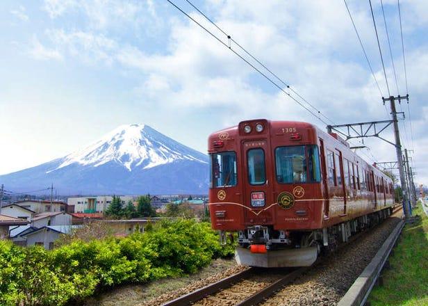 신주쿠에서 가와구치코, 후지큐하이랜드까지 가는 방법 총정리(버스,전철 등)