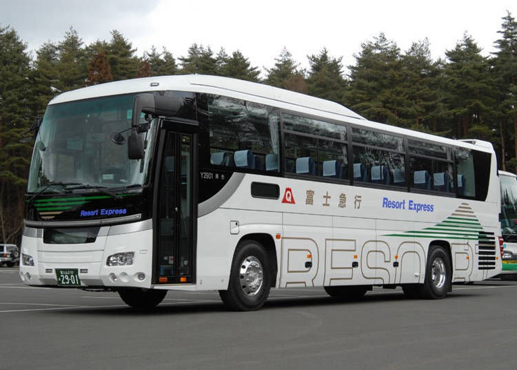 1. Highway Bus: Great Balance Between Price and Time (About 2 hours/2,000 yen)
