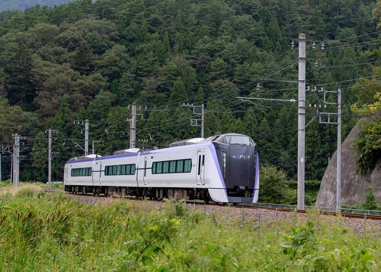 (2)【富士回遊】全席指定で、乗り換えなし。スムーズに行きたいならこれ!