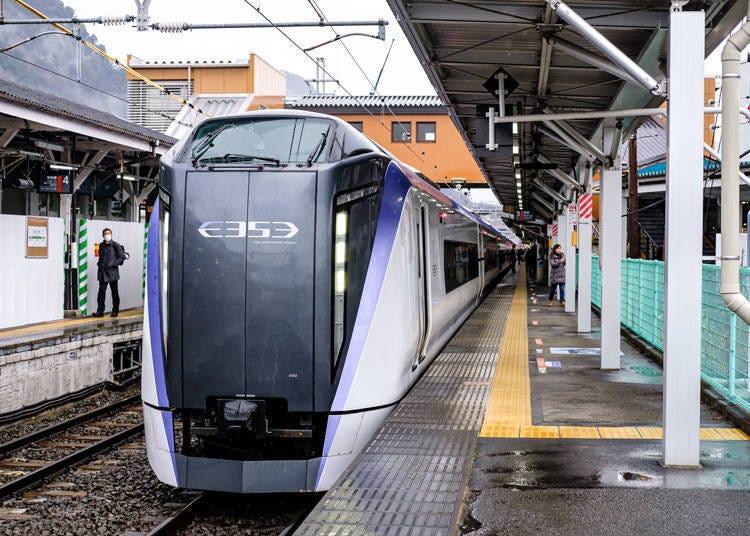3. 特急梓(Azusa)号・甲斐路(Kaiji)号:从东京23区内搭电车出发最快最方便