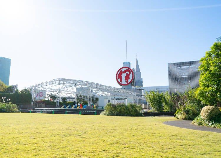 在新宿伊勢丹屋頂就能享受日本的四季情趣
