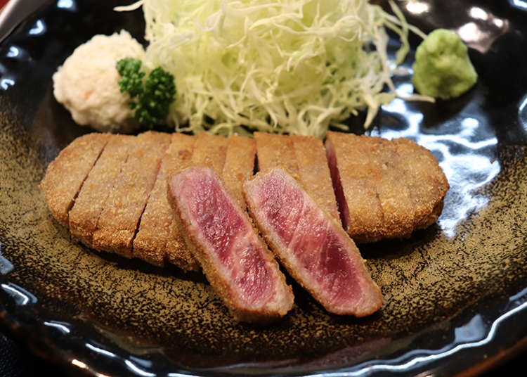 3 Recommend Lunches in Shinjuku: Beef Cutlet, Fish Lunch Set and Udon For Under $15