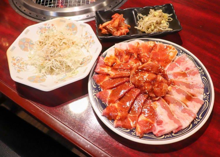 ■焼肉食べ放題1,980円~に挑戦!そのボリュームと美味しさに驚き