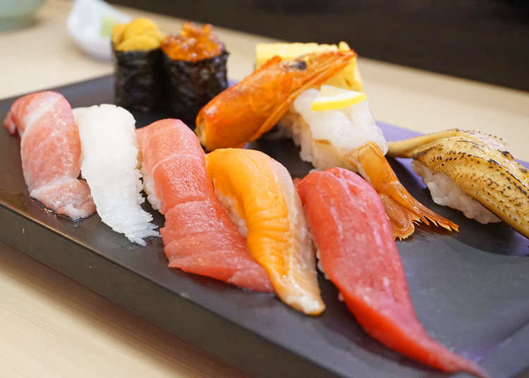 신주쿠 점심 스시 맛집! 예산별로 추천하는 니시,히가시 신주쿠의 5곳