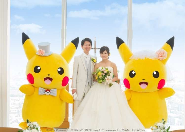 Pokémon Wedding Plan being offered in Japan, complete with beautiful Pikachu wedding cake - LIVE JAPAN