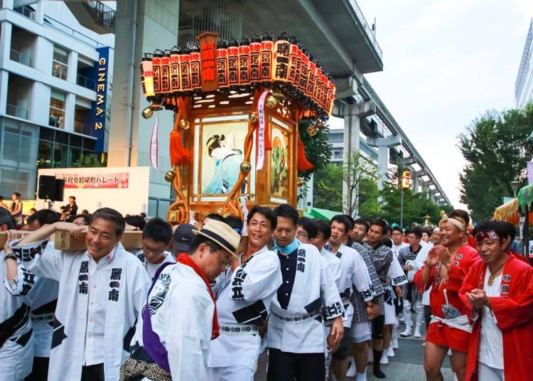 7. 熱い日本の夏で体験したい! 「お神輿」(マレーシア/女性/30代)
