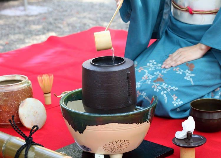 10. これぞ日本の文化「茶道」(中国/女性/30代)