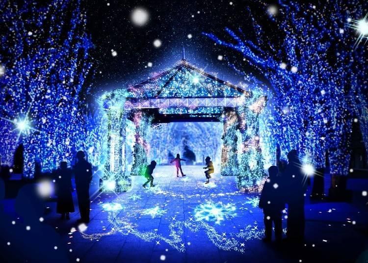 1. Yokohama Miraito: 1.5km-long Area of Illuminated Wonder (Until Feb 14, 2021)