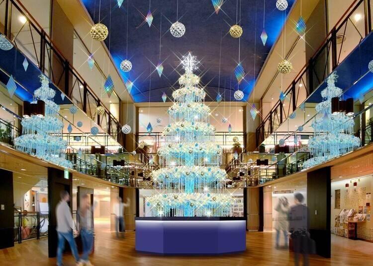 스카이 빌딩 도처에 환상적인 장식 'SKY CHRISTMAS 2020'