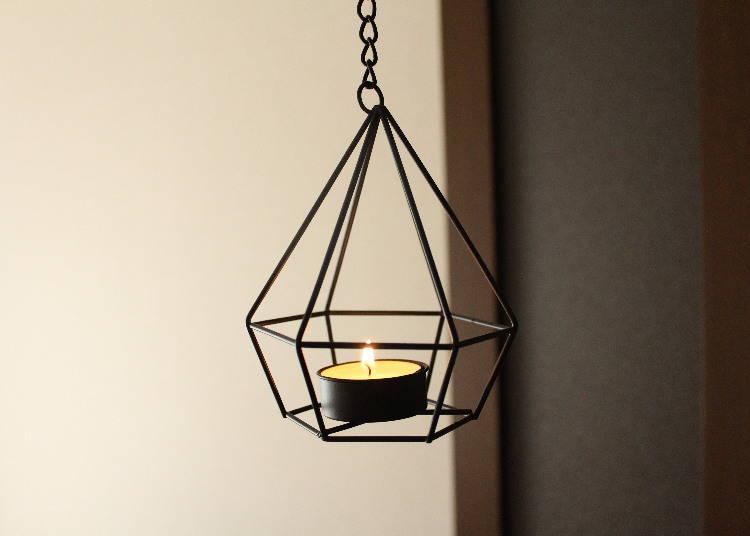 1. Edgy yet Elegant Terrarium Ornament