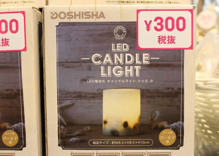 5. Quaint LED Candle Light