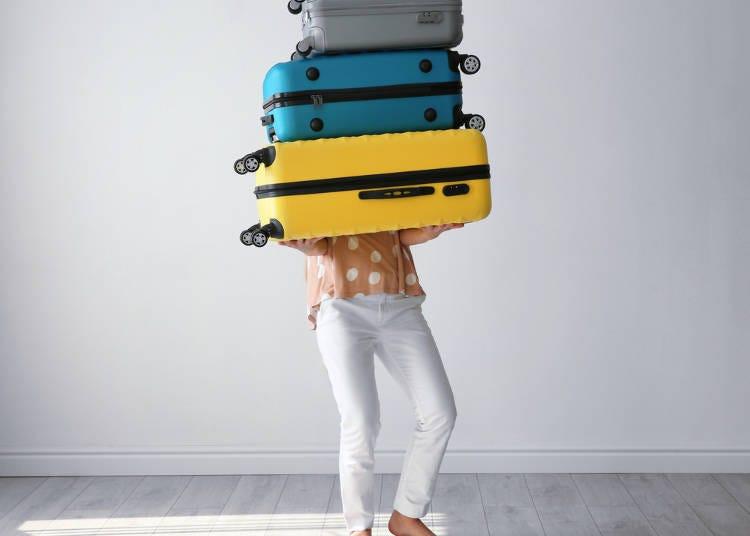 導遊最後給大家的建議:要注意行李重量啊!