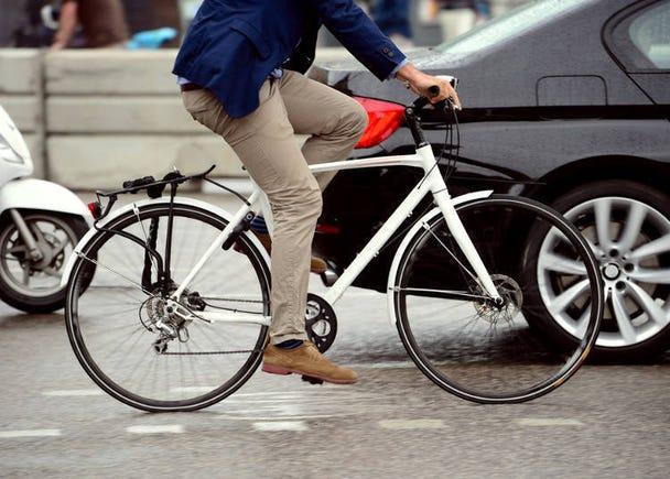交通費削減! 徒歩20分圏内は歩く&できるだけ移動は自転車で!