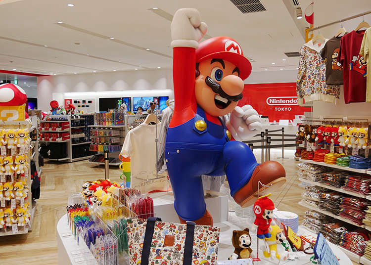 Nintendo Tokyo: Inside the First Official Nintendo Store in Japan (With Video)