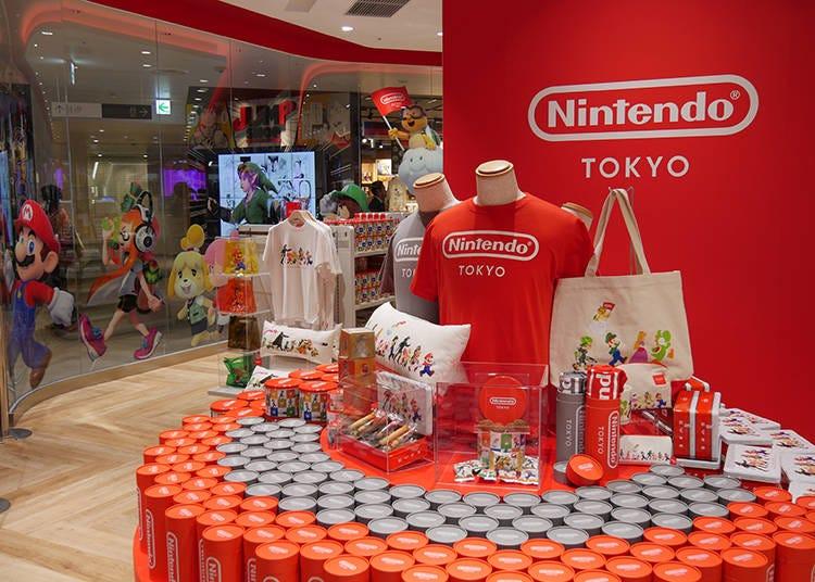Inside the Nintendo Store in Tokyo!