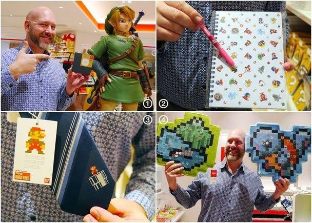 Top 4 Nintendo Souvenirs at Nintendo Tokyo: Our Picks