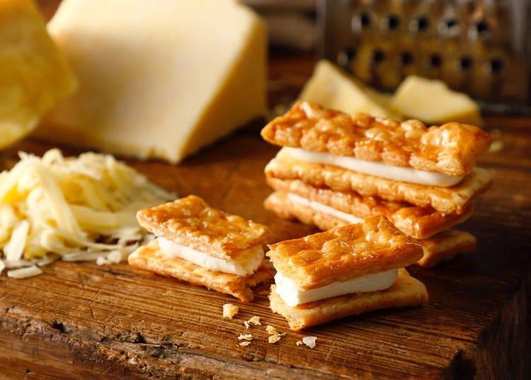 第7位:チェダーチーズパイサンド(東京ミルクチーズ工場)