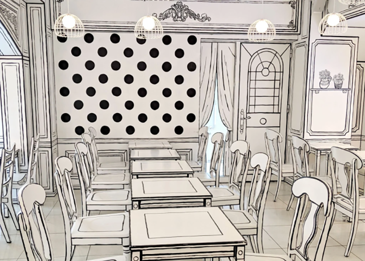 Tokyo's amazing 2D Cafe looks like an illustration, but it's an actual restaurant you can eat in! - LIVE JAPAN