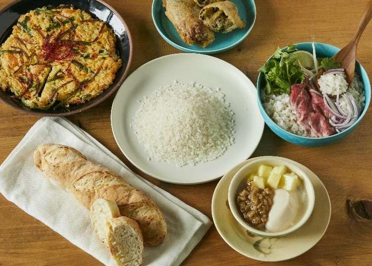 一起用日本米做出創意十足的本國料理吧!讓你每天的飲食生活變得美味又健康~