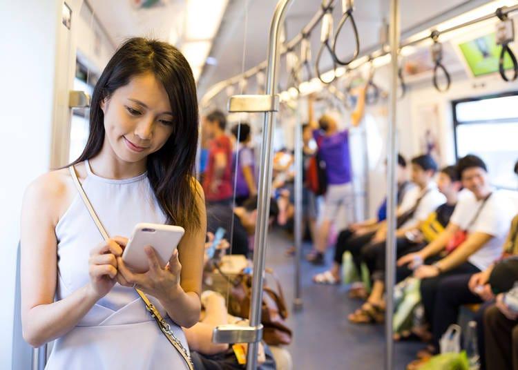 「おしゃべりはOK!でも電話はNO!」電車内で電話はマナー違反