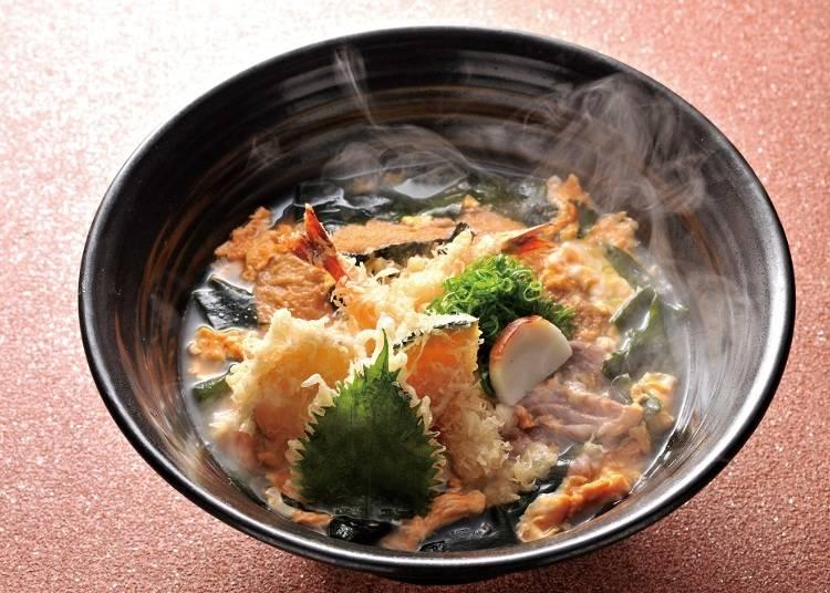 3위: 이 한 그릇으로 '츠루통탄'을 섭렵할 수 있다! 【츠루통 잔마이】